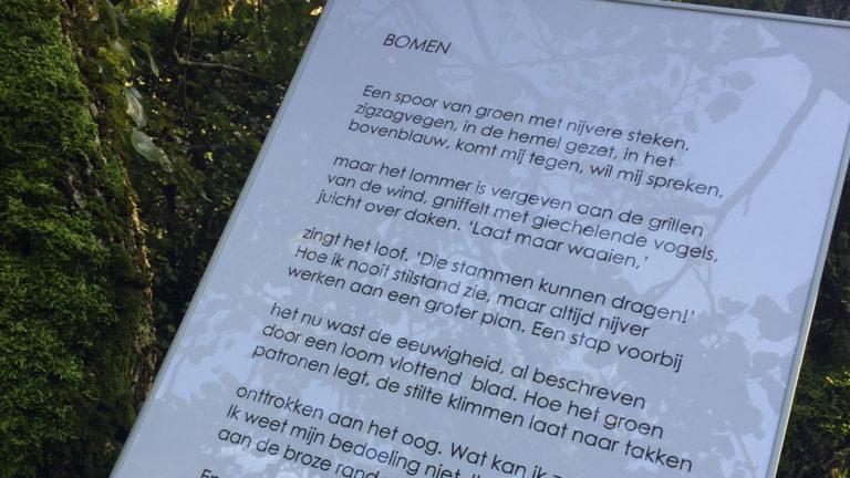 Hortus en bieb houden dichtwedstrijd met ook prijzen voor kinderen en klassen - Alkmaar Centraal